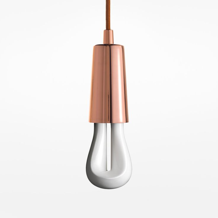 Plumen Drop Cap Pendant - Copper