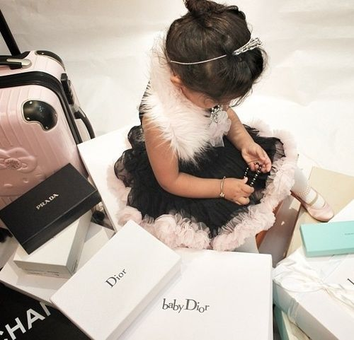 Mini-Me Shopper... She does have class in her shopping choices... Chanel, Tiffany and Dior ... I think yes!!