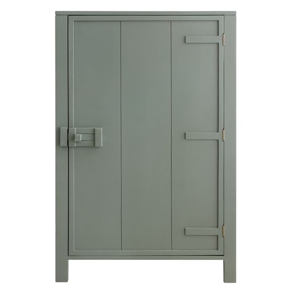 Products details - Furniture - Single door cabinet army green