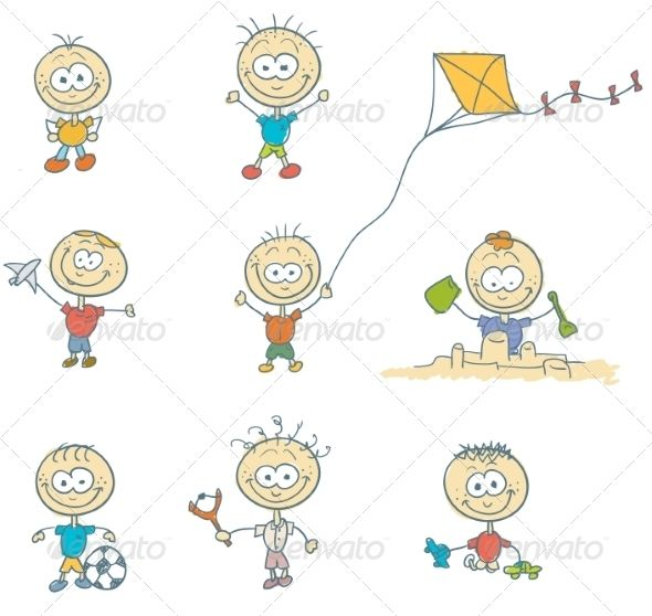 Children Play   Created: 1August14 GraphicsFilesIncluded: JPGImage #VectorEPS #AIIllustrator Layered: Yes MinimumAdobeCSVersion: CS Tags: art #ball #boy #break #cartoon #child #children #cute #doodle #drawing #figure #football #fun #game #girls #happy #illustration #image #kids #kindergarten #little #nature #people #playing #sketch #smiling #sports #summer #swing #vector #graphicriver