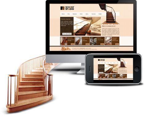 Strona www dla producenta schodów z Warszawy