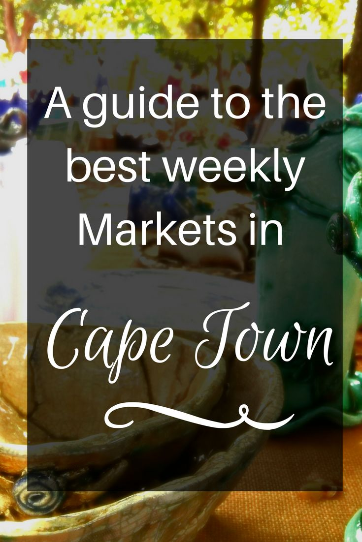 Markets in Cape Town come in all shapes types and sizes. If you are traveling to Cape Town here are some of the best markets to visit.