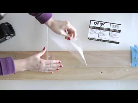 How to Make and Mount a DIY Floating Acrylic Picture Frame