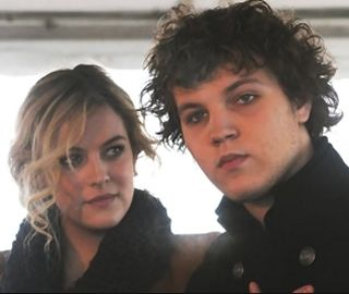 Danielle Riley, born May 29, 1989 and Benjamin Storm, born October 21, 1992. Children of Lisa Marie Presley and Danny Keough and grandchildren of Elvis and Priscilla Presley. Actually think Ben looks more like Gladys then Elvis did.