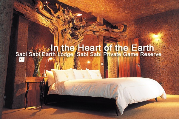 In the Heart of the Earth in gorgeous Sabi Sabi Earth Lodge.