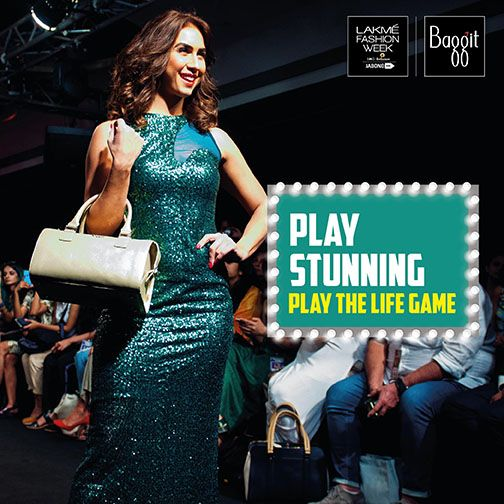 Just like Lauren Gottlieb owned the runway carrying our gorgeous golden bowling bag from Baggit Fall/Winter'15 Collection featured # LakmeFashionWeek 2015, you too can create a stunning look like her this Festive Season and grab all the attention!