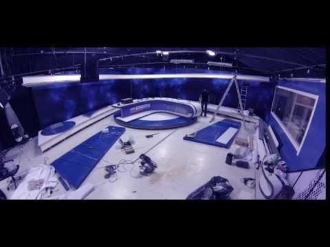 VTV NOTICIAS TOTALMENTE RENOVADO -  Broadcast media set tv design