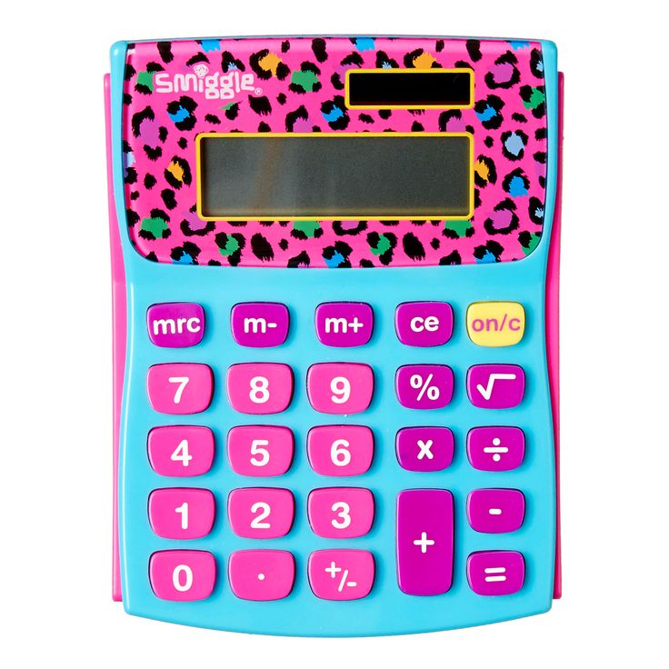 Image for Figure It Out Calculator V2 from Smiggle UK