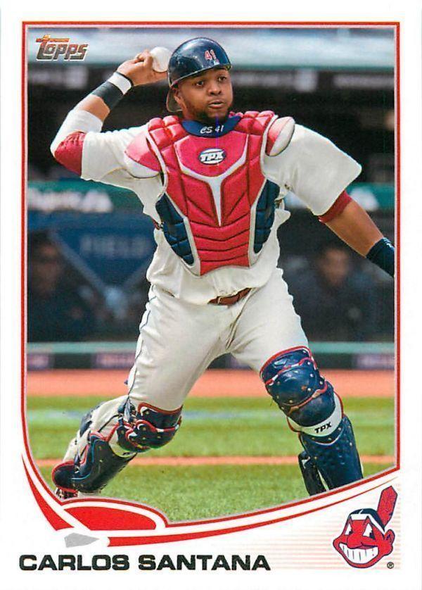 Carlos Santana 2013 Topps #141 Cleveland Indians
