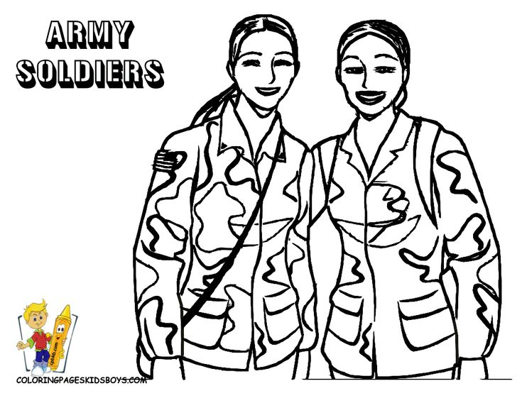 christmas military coloring pages - photo#13