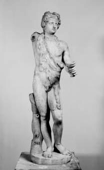 """""""Baco"""", Anónimo, 125-150, Mármol"""