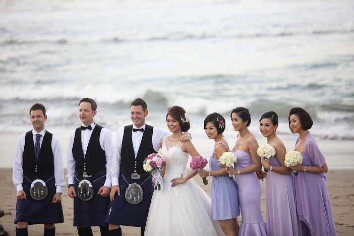 Scottland in Bali... Lol :)