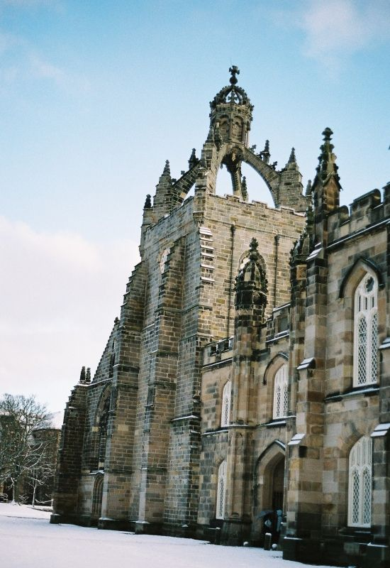 The University of Aberdeen is an ancient university founded in 1495, in Old Aberdeen, Scotland Copyright: Elizabeth McK (bethel)