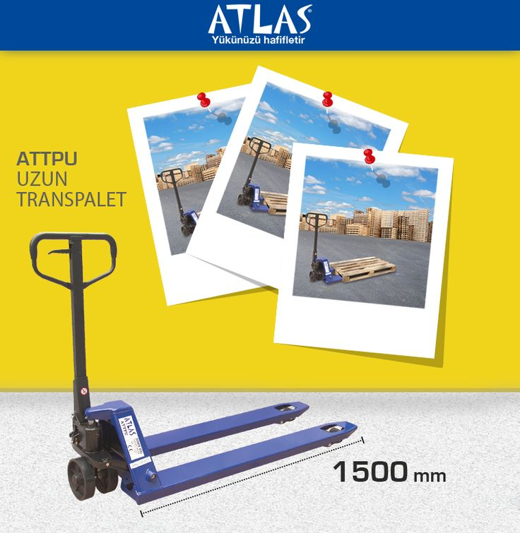 Atlas marka uzun çatallı transpalet 2.000 KG taşıma kapasiteli manuel transpalettir. 150 cm'lik çatal uzunluğuna sahiptir. http://www.ozkardeslermakina.com/urun/uzun-catalli-transpalet-atlas-attpu/ #transpalet #atlas_transpalet #manuel_transpalet #istif_makinası #istif_makinesi #manuel_istif