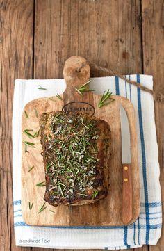 La cocina de Tesa: Cinta de lomo de cerdo al horno con hierbas aromáticas