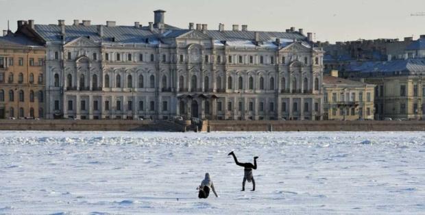 Rio Neva, São Petersburgo, Rússia