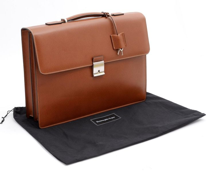 Zegna says it all, with this heritage brown leather briefcase. | Find yours! http://www.frieschskys.com/bags | #frieschskys #mensfashion #fashion #mensstyle #style #moda #menswear #dapper #stylish #MadeInItaly #Italy #couture #highfashion #designer #shopping