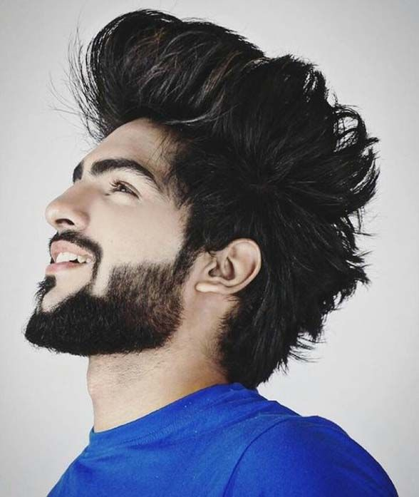 Handsome Boys Hairstyle Fashion Beard Styles Short Beard Styles Best Beard Styles
