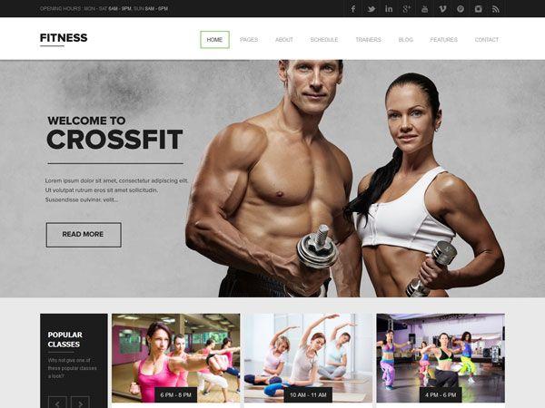 25 Best Gym & Fitness WordPress Themes 2015