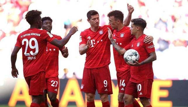 بايرن ميونخ يحقق فوزا كبيرا ضد ماينز في مشاركة كوتينيو وبيريسيتش سبورت 360 في مشاركة الثنائي الجديد البرازيلي فيليب كوتينيو وا Bayern Mainz Sports Jersey