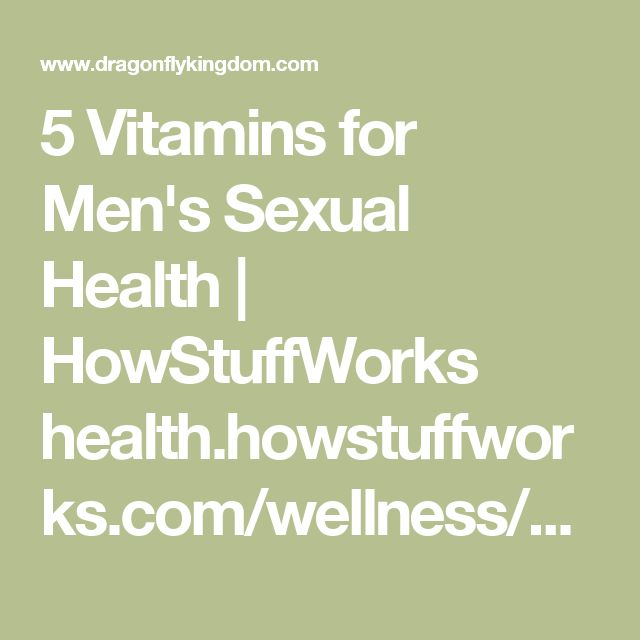 5 Vitamins for Men's Sexual Health | HowStuffWorks     health.howstuffworks.com/wellness/men/health-tips/5-v...Proxy Highlight     Mom always told you to eat your greens, but who knew they'd one day help you in the bedroom. Have some spinach to boost your folate and vitamin C. See ...     7 Libido Boosting Vitamins Every Man Needs - Dirty Truth Reviews     www.dirtytruthreviews.com/7-libido-boosting-vitamins-...Proxy Highlight     Nov 23, 2014 ... Aside from improving blood flow, vitamin C…