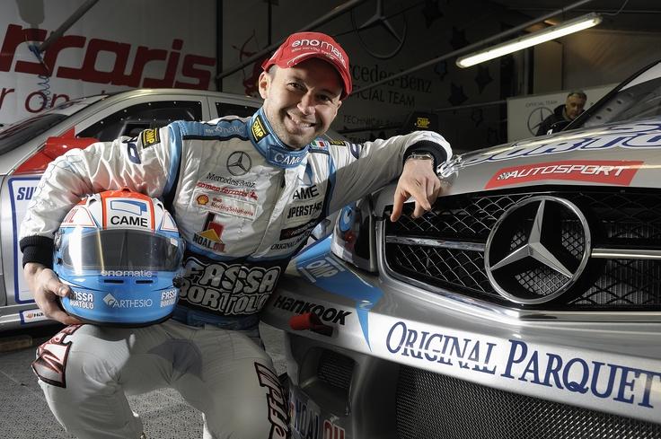 Thomas Biagi and his Official Mercedes C63 AMG
