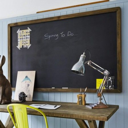Large Framed Blackboard - Home Office - Home Accessories  Have been looking for something like this for ages, now I've found it I'm thinking it might be too big