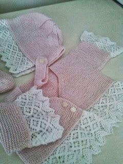 Mi Canastilla: Modelo mi canastilla de bebé# rosa con puntillas