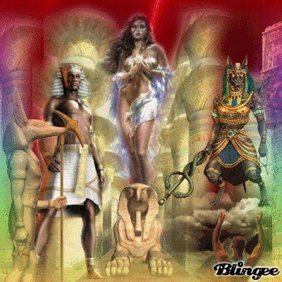 Osiris, Isis y Set