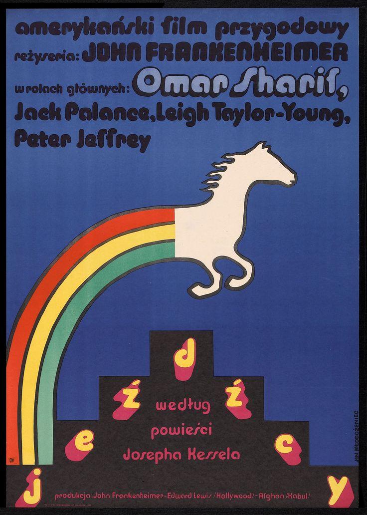 The Horsemen (John Frankenheimer, 1971) Polish design by Jan Mlodozeniec