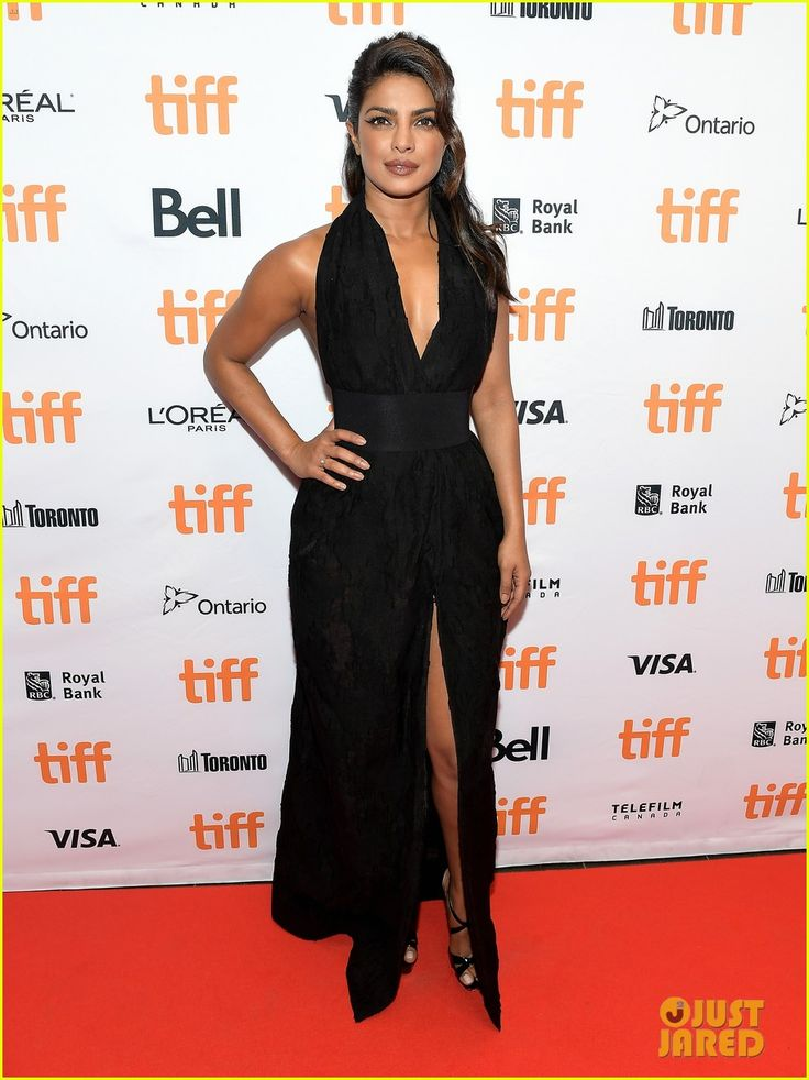 Priyanka Chopra Screens Her Upcoming Movie at TIFF