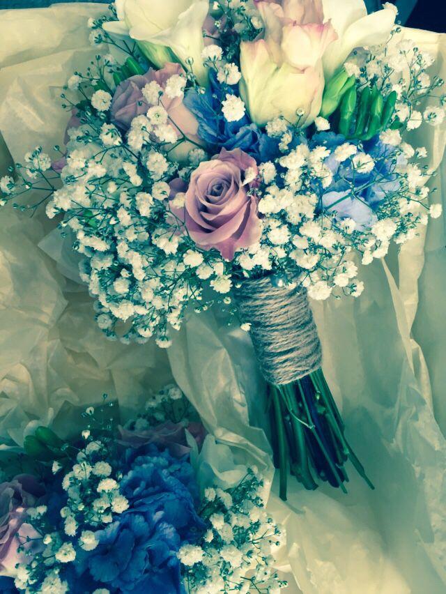 Hydrangea and rose mixture, Lotty's flowers weddings.