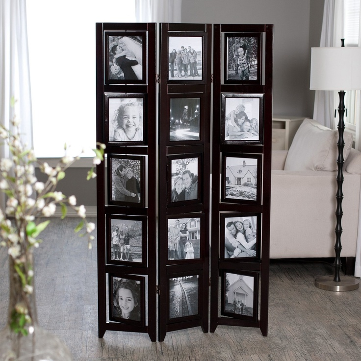 A room divider picture frame ... gorgeous! - 8 Best Images About Screen Divider Makeover Ideas On Pinterest