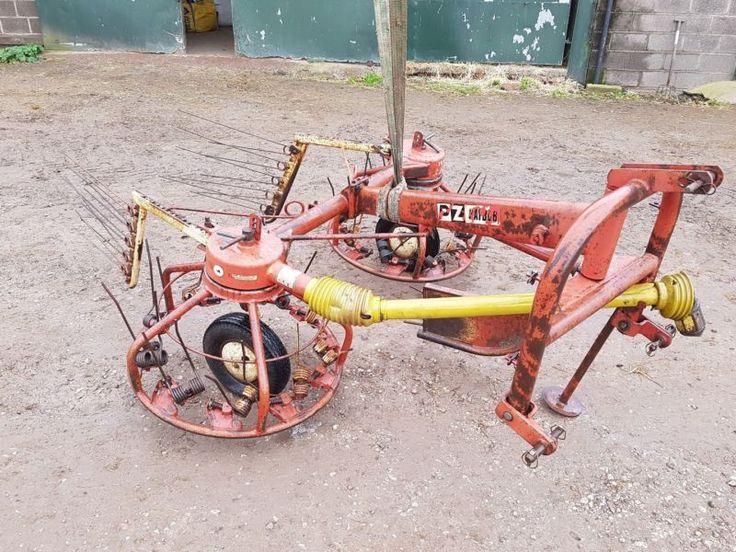 hay turner tedder p.z. tractor baler mower Gwo No vat .....