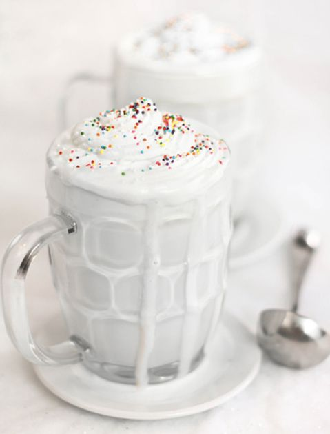 WHITEOUT HOT COCOA - 17 Hot Cocoa Recipes That Will Get You Through Winter via @PureWow