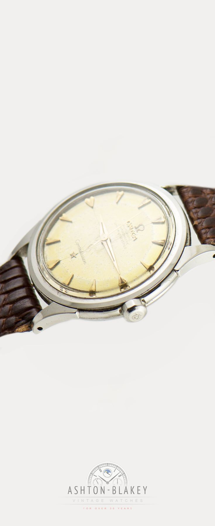 Classic old school vintage 1950's Omega Constellation