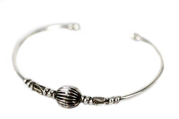 Bracelet du Népal bijoux ethnique bracelet argent - bracelet ethnic jewelry silver