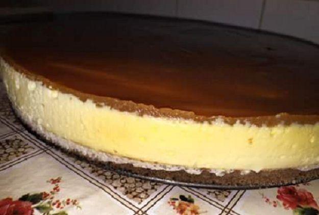 جديد تحضير تشيز كيك بالكراميل لذيذة بزاف Food Desserts Cheesecake
