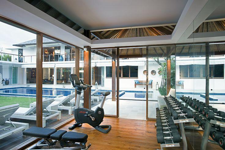 Gym Room - Villa Cendrawasih Bali http://prestigebalivillas.com/bali_villas/villa_cendrawasih/50/tell_friend/