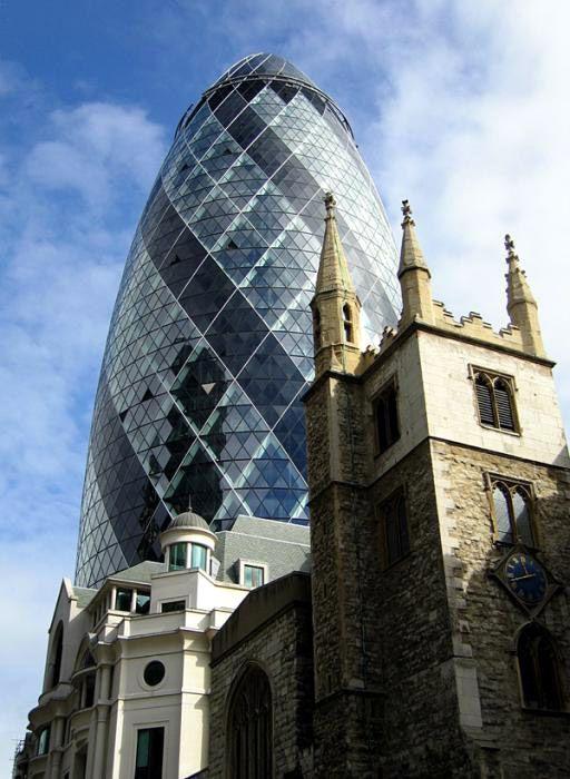 London, England: 30-st Mary Axe Tower