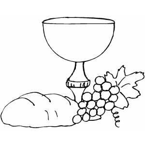 Chalice coloring page sacraments pinterest communion for Communion for kids coloring pages
