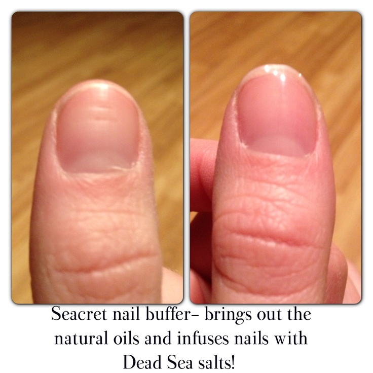 Who needs polish when you have a Seacret nail buffer!