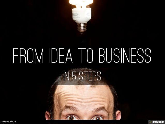 From idea to business - www.bizzrebel.com