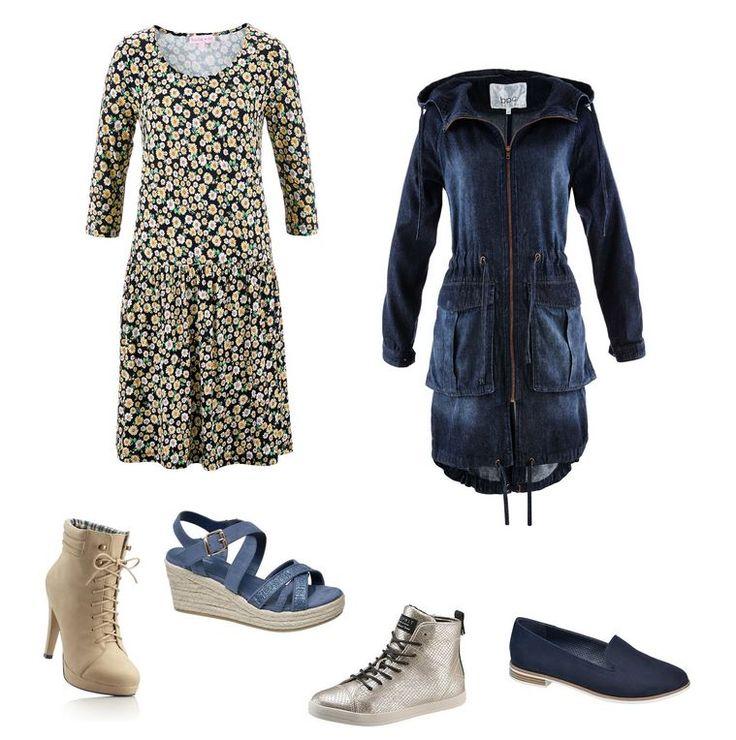 Móda pre moletky -rifľová parka pre moletky - outfit pre moletky, šaty pre moletky, oblečenie pre moletky