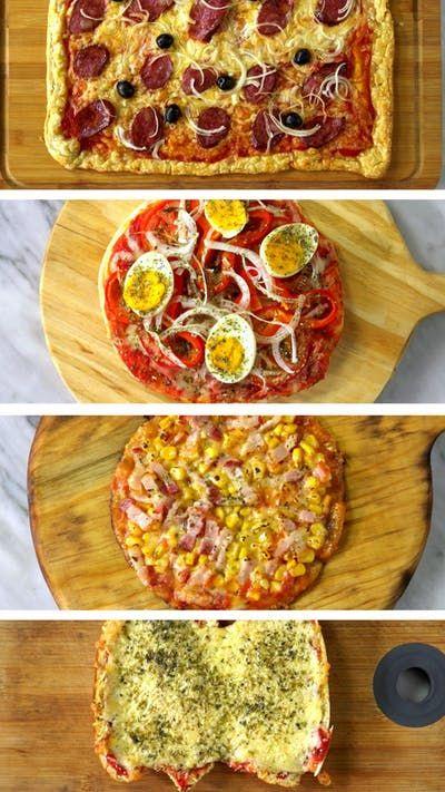 Quatro maneiras práticas, deliciosas e super criativas de fazer pizza!