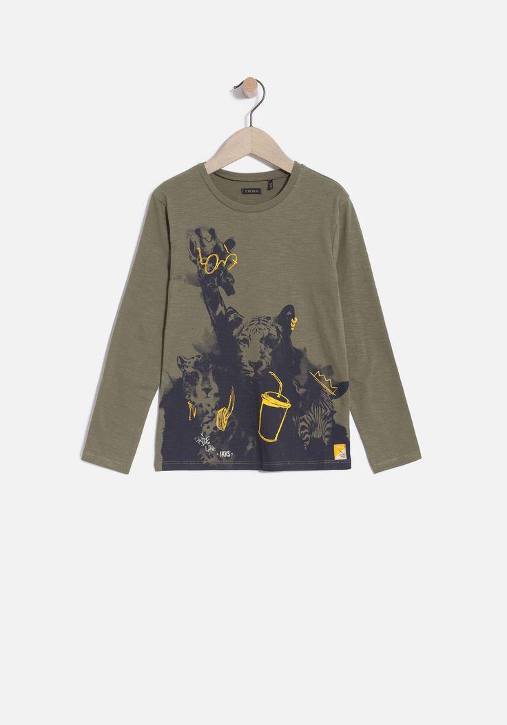 Jongens T-shirt | IKKS Herfst / winter | Jongens mode