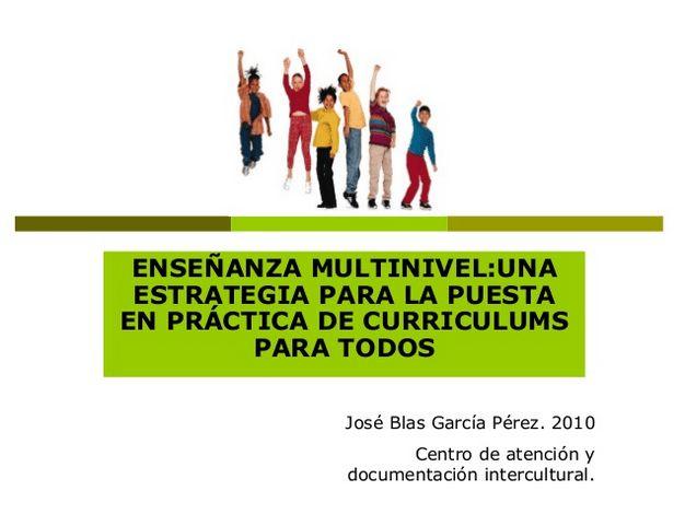 Enseñanza Multinivel - Fundamentos y Estrategias Prácticas para el Aula | #Presentación #Educación