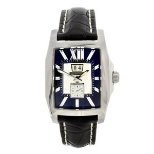A gentleman's stainless steel automatic Breitling Bentley wrist watch.
