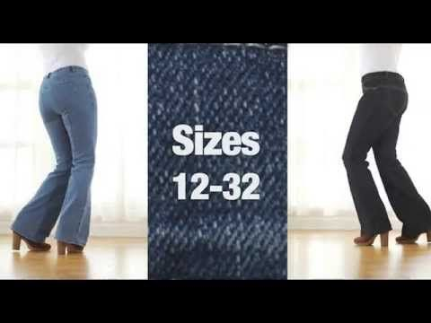 Fashion World - Clever Clothes - Simply Wow Perkier Bum Jeans - YouTube