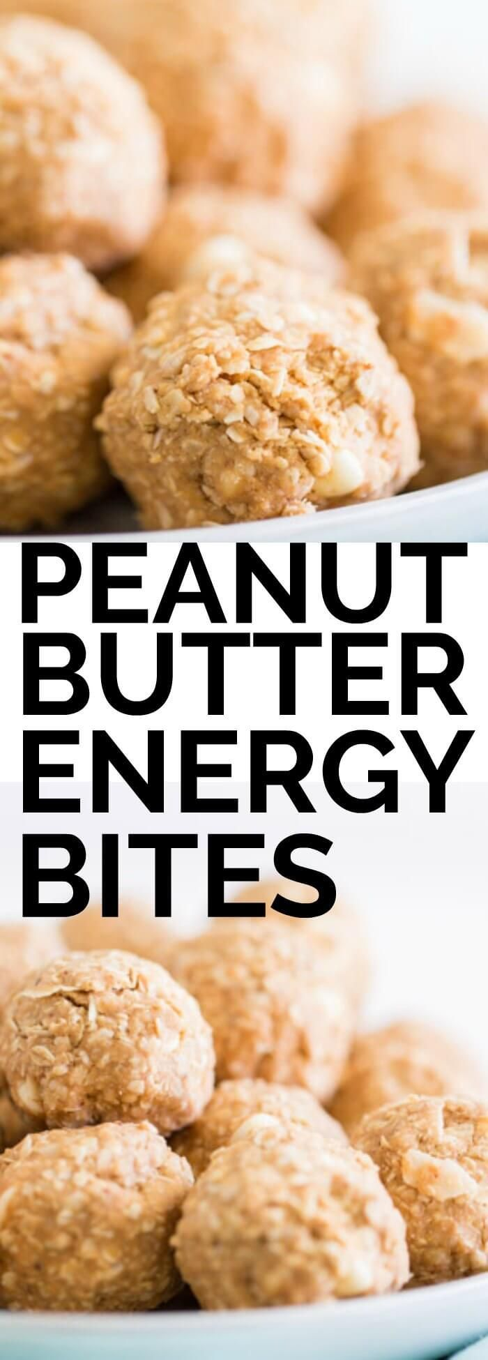 These peanut butter & white chocolate energy bites are the perfect post work out boost! #SlamDunkStyling #Publix #ad